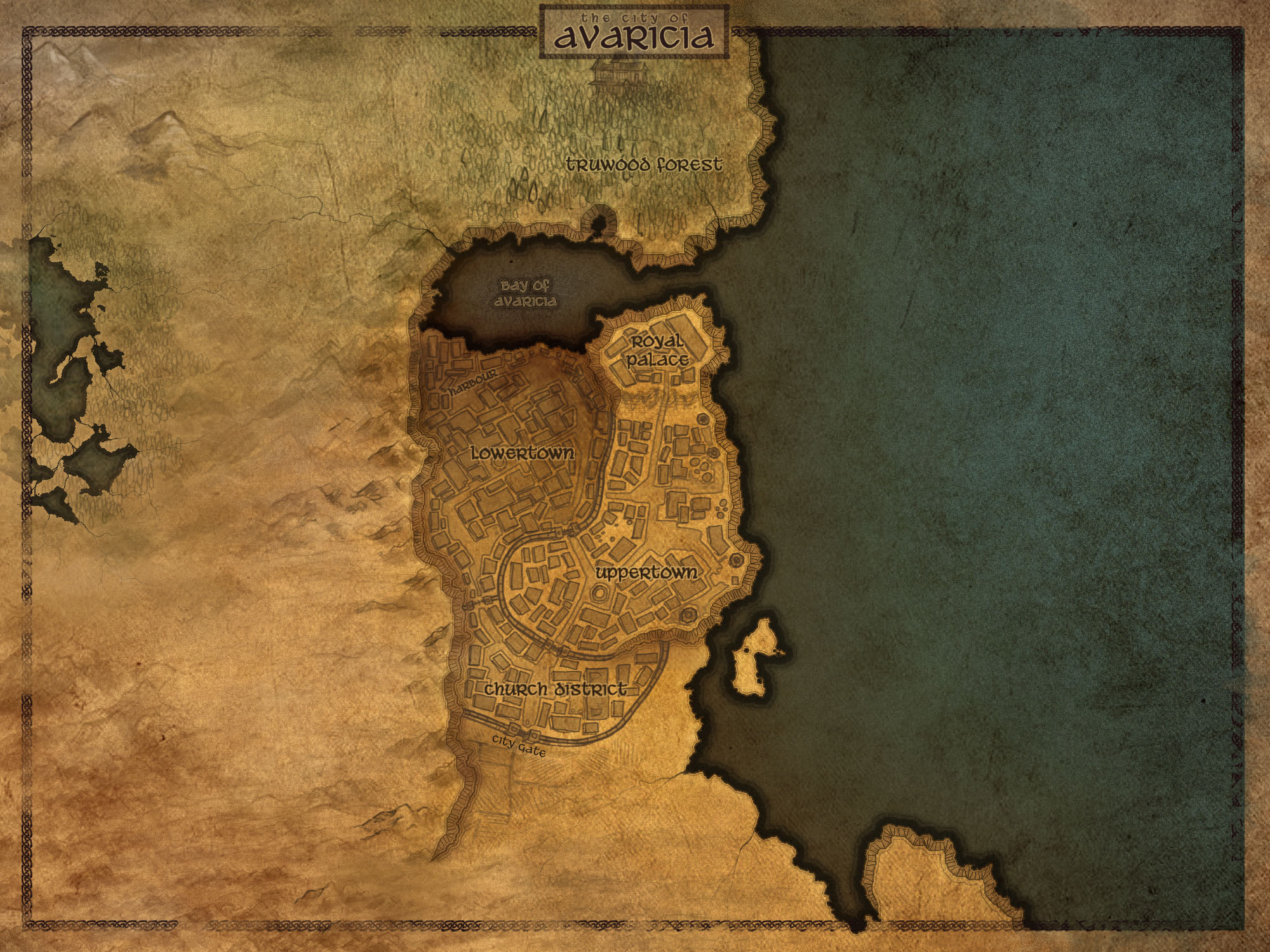 Age of Avarice Map